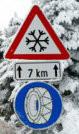 Winterbanden frankrijk sneeuwketting